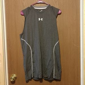Under Armour fitted muscle tank